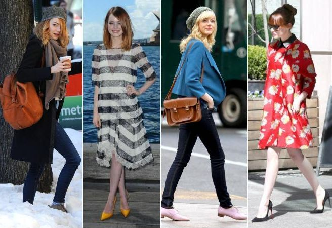 8 lectii de stil de la Emma Stone