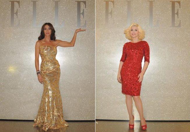 Doua vedete in rochii cu paiete. Mihaela Radulescu versus Loredana Groza