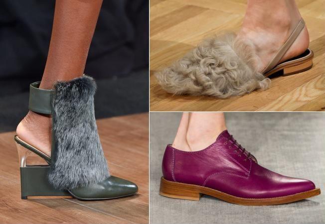 Cei mai inediti pantofi de pe podiumul Saptamanii Modei de la New York