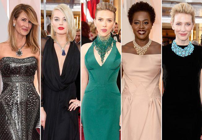 Cele mai spectaculoase bijuterii purtate de dive la Gala Oscarurilor