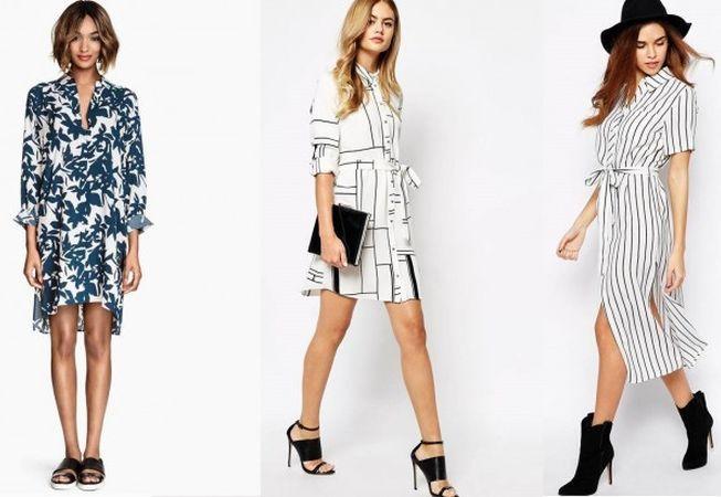 5 rochii tip camasa pe care trebuie sa le incerci sezonul acesta