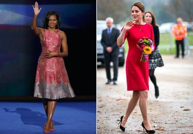Michelle Obama versus Kate Middleton. Cine castiga competitia stilului?