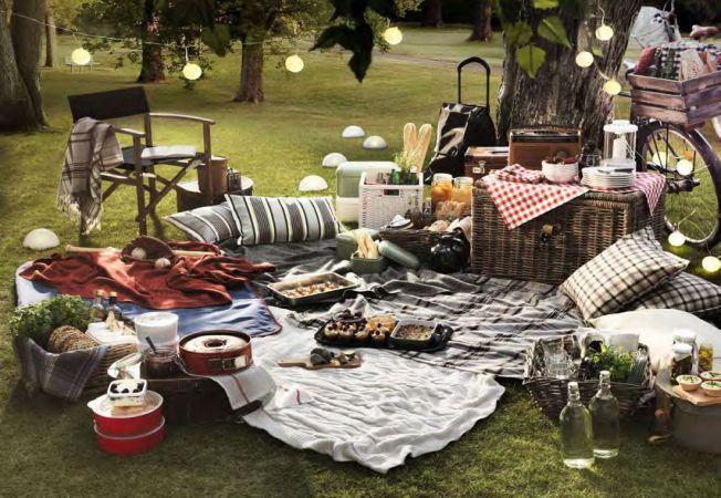 4 idei pentru un amenajarea unui loc de picnic in gradina