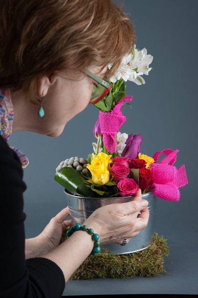 Expertul Acasa.ro, Mihaela Lascu, designer floral