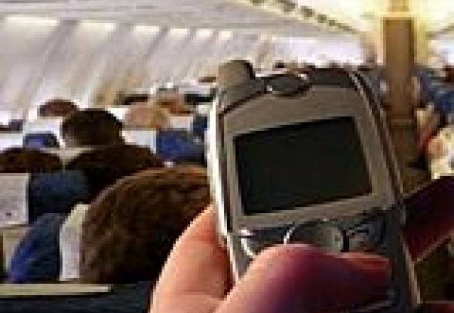 Airplaine cell phone