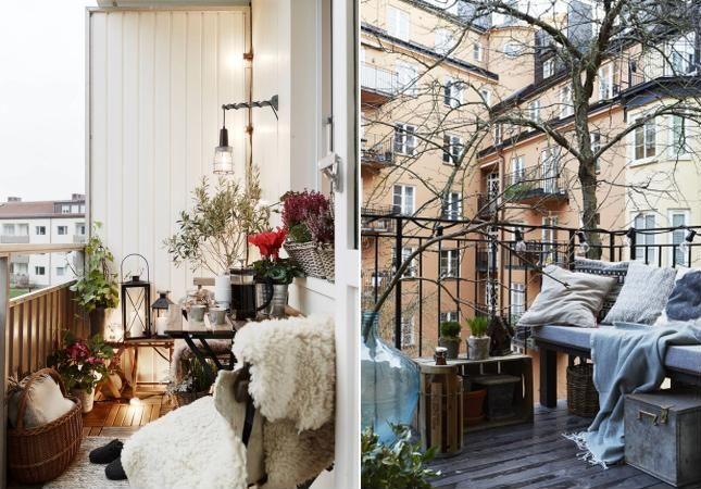 balcon de iarna