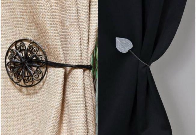 Perdele si draperii decorate cu accesorii practice si estetice