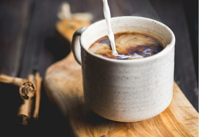Cafea cu lapte si dovleac