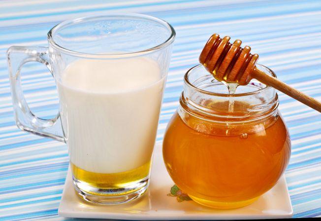 masca par lapte miere