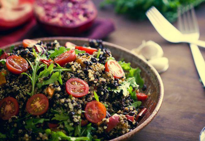 salata orez negru