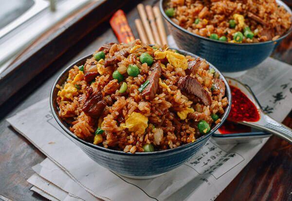 orez cu porc si susan