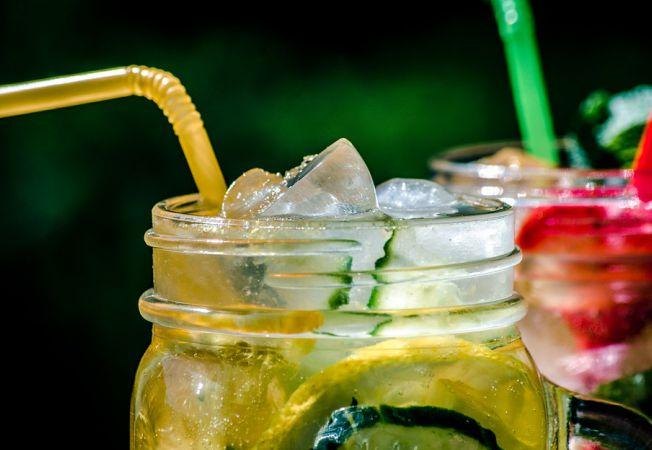 Limonada cu menta si castravete, ideala pentru a te racori vara aceasta