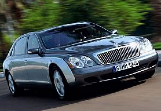 Maybach 62 facelift