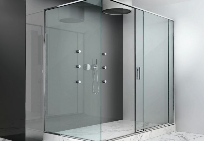 cabina dus sticla securizata