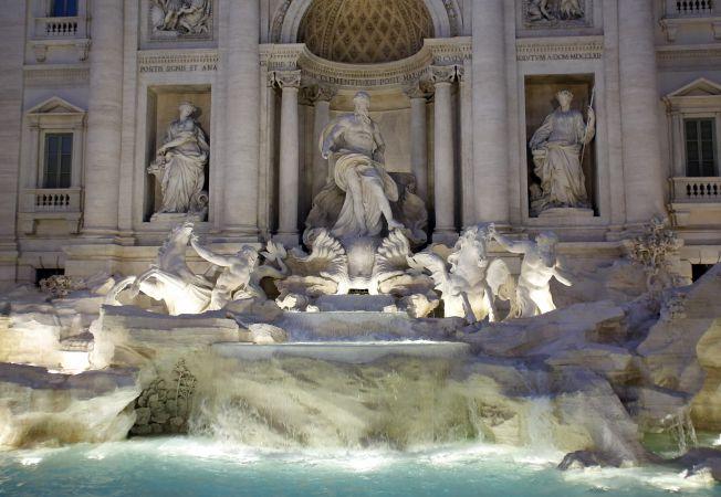 Fontana di Trevi Hepta