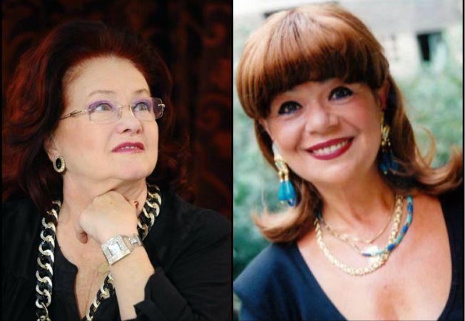 Cristina Stamate si Stela Popescu