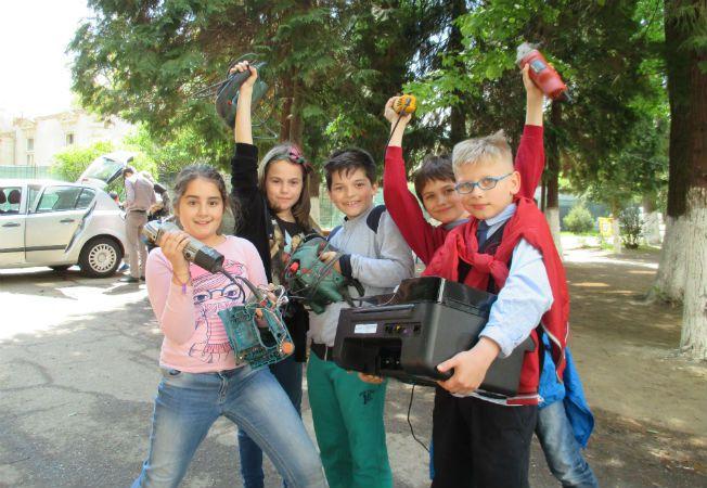 scolile recicleaza campanie