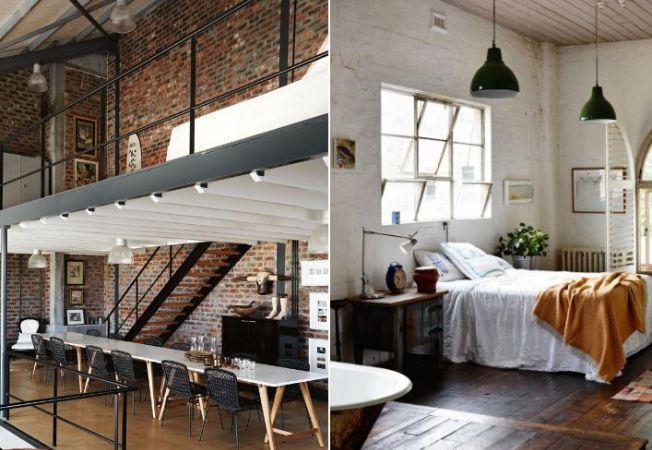 4 apartamente cu design industrial in care ti-ai dori sa locuiesti
