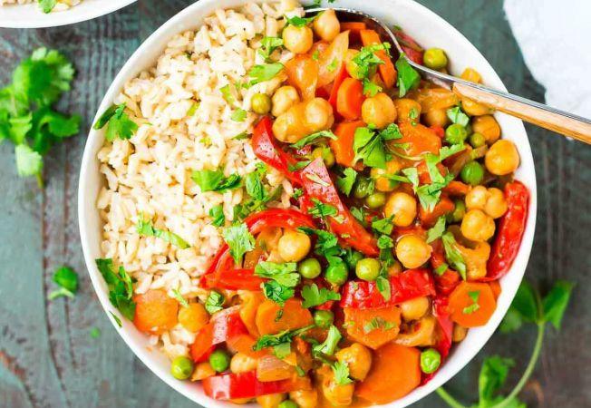 Curry cu naut si ulei de cocos