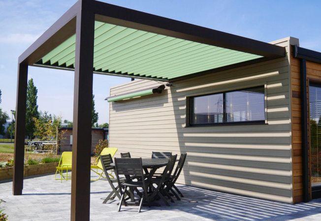 pergola-retractabila electric gradina terasa