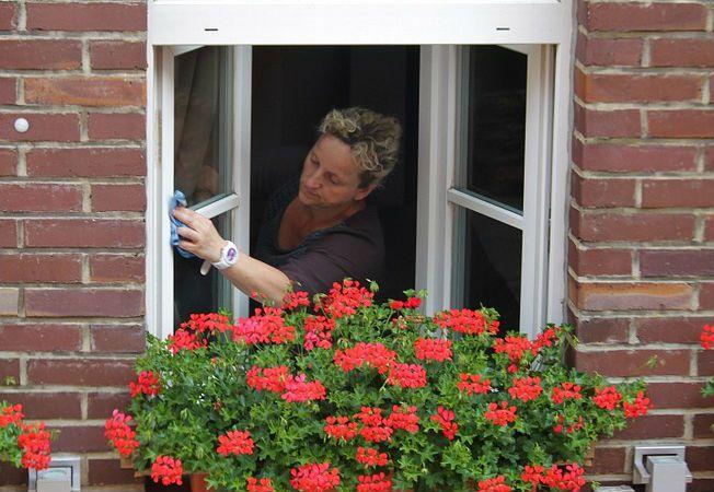spalare geamuri
