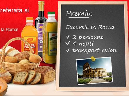 Concursul de gatit Reteta preferata isi premiaza castigatorii cu o excursie in doi la Roma