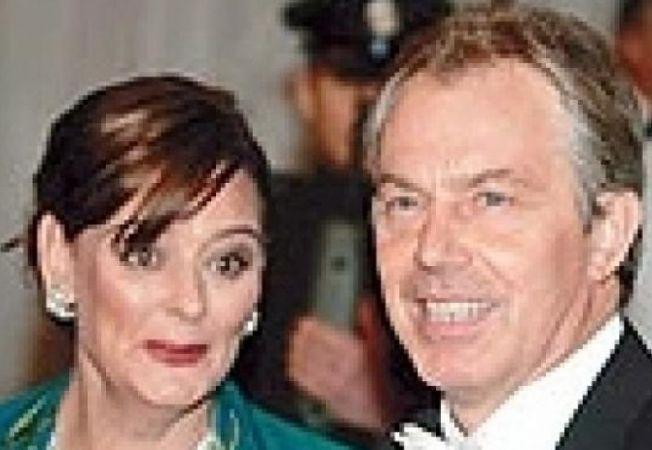 Cherie si Tony Blair