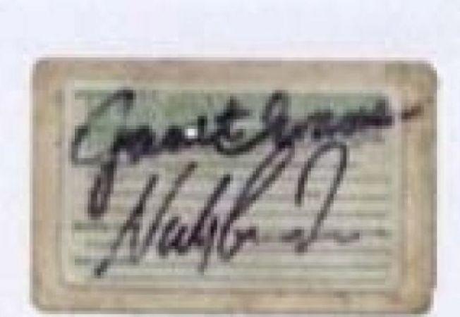 autograf nadia comaneci