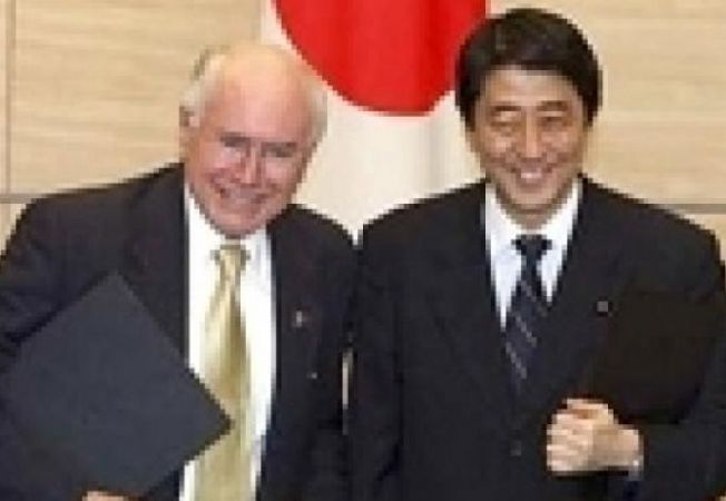 Shinzo Abe John Howard