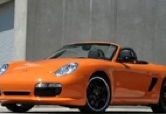 Porsche Boxster Orange