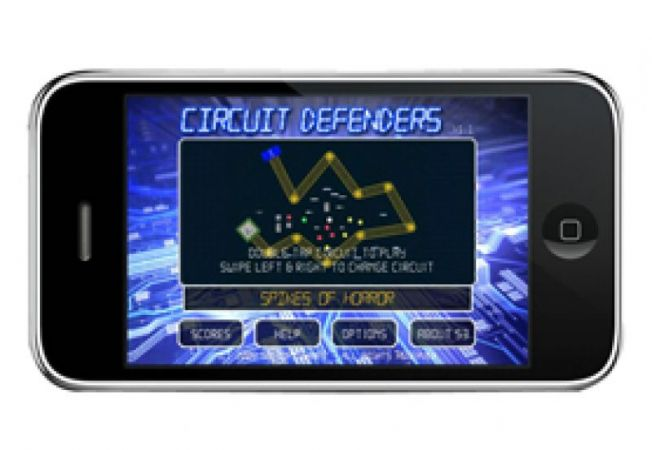Circuit Defensers iPhone iPod Touch