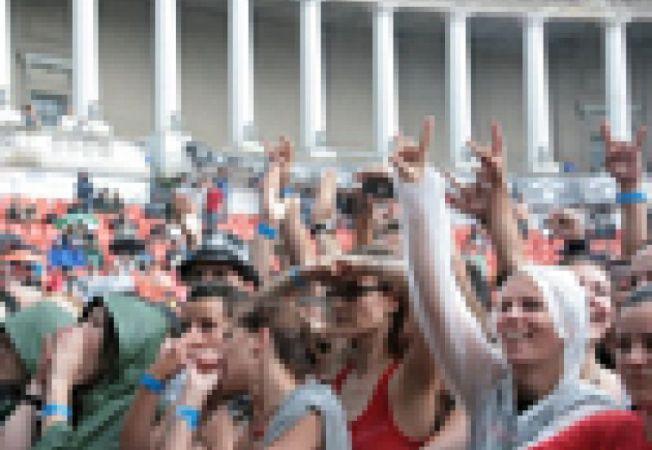 multime public concert