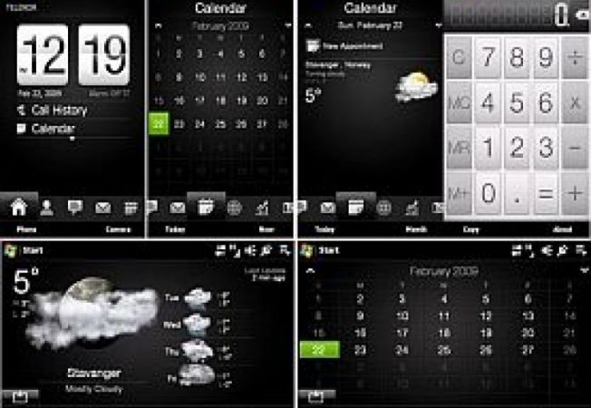 Sony Ericsson TouchFlo3D