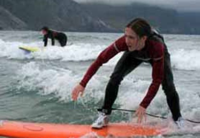 surfing in Irlanda