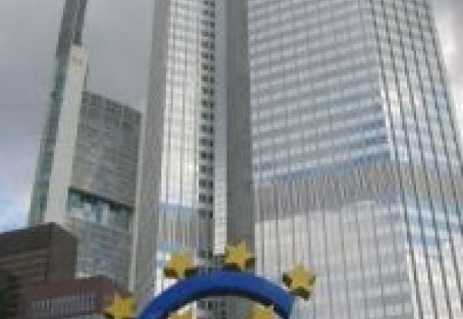 498150 0811 Frankfurt  European Central Bank with Euro