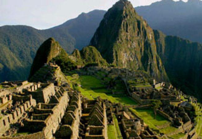 Machu Picchu de sus