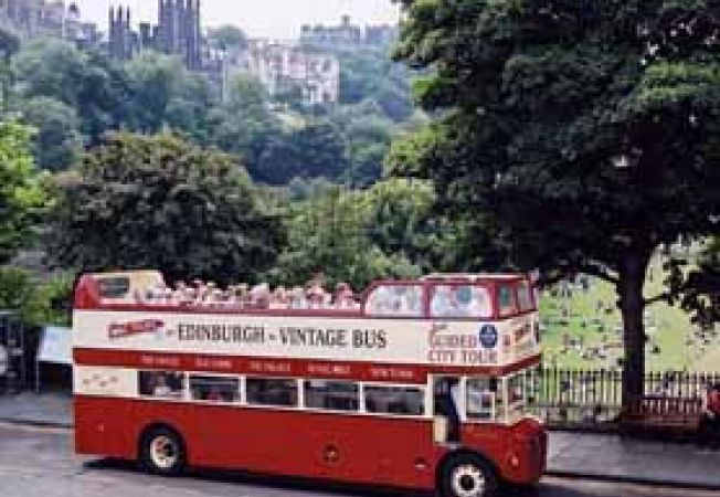 Edinburgh, bus turistic