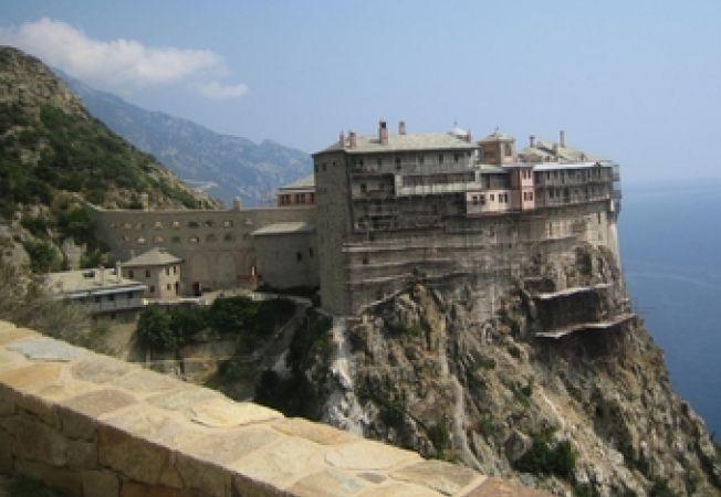 Manastire la Muntele Athos