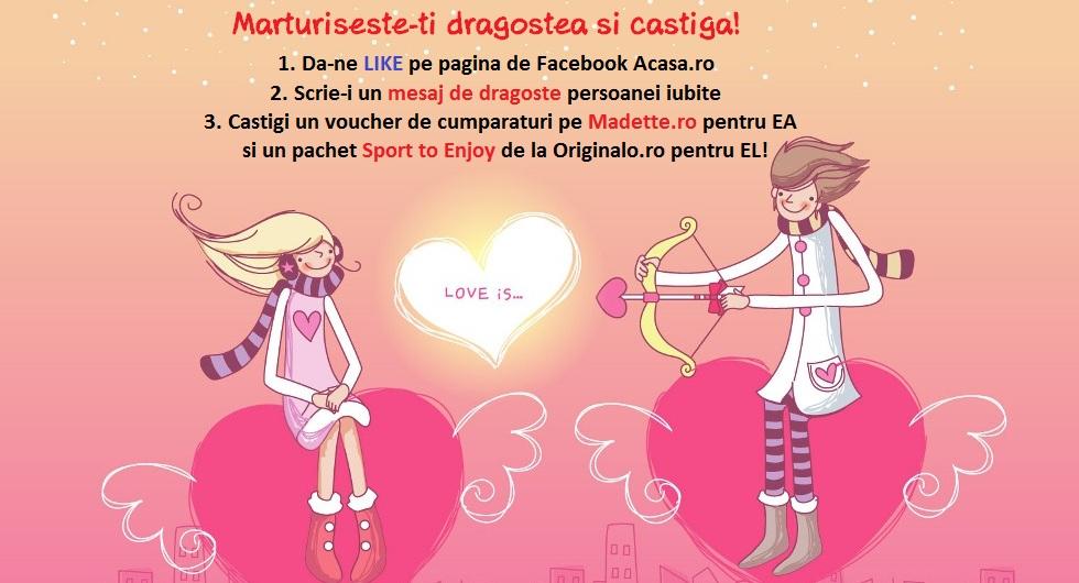 Acasa.ro, Madette si Originalo.ro iti premiaza dragostea!