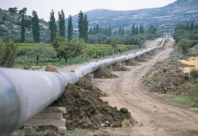 641243 0901 bulgarian gas pipe