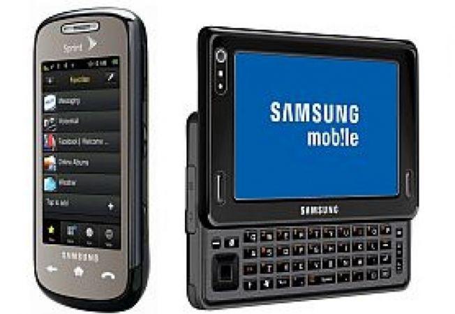Samsung Instinct S30 si Mondi