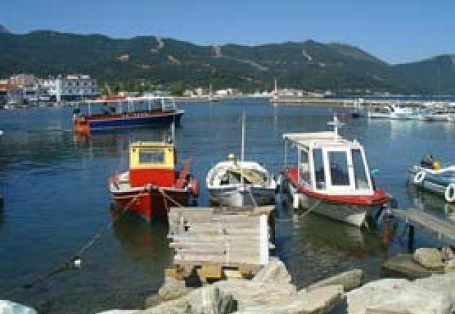 Thassos port