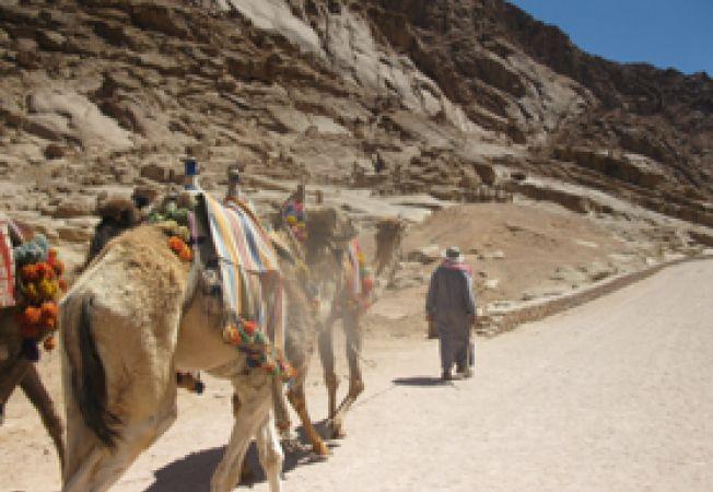pe drum spre manastire