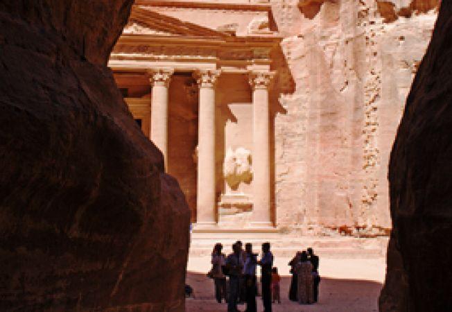 Iesirea din Siq, Petra