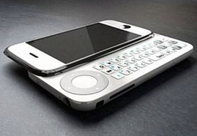 iPhone QWERTY gaming concept