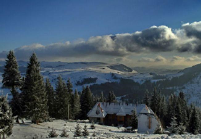 Romania, peisaj de iarna