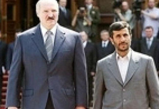 Alexander Lucasenko Mahmoud Ahmadinejad