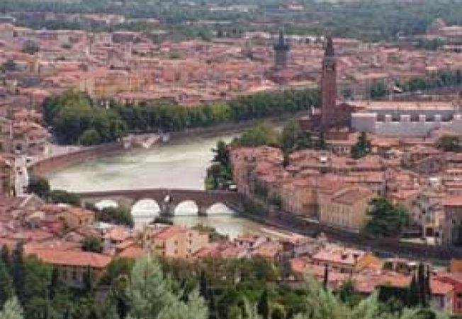 Verona panorama de sus