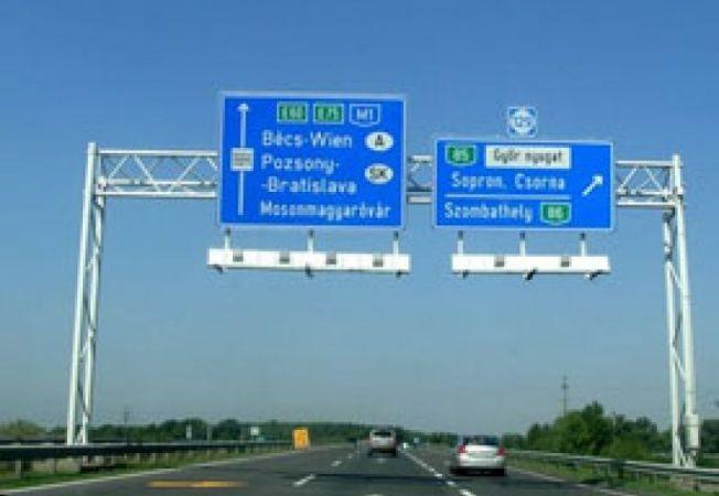 autostrada ungaria