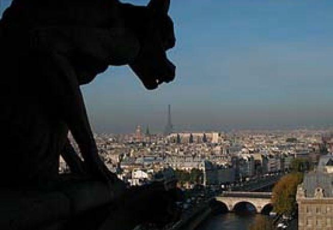vedere asupra Parisului